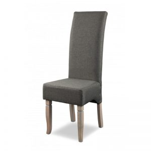 Swanfield Designs Highback Chairs -Solidwood - dark grey