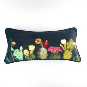 Velvet Cactus Scatter Cushion