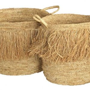 Basket Tassle Natural