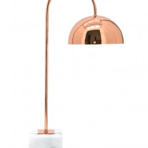 Chester Copper and Marble Desk Lamp