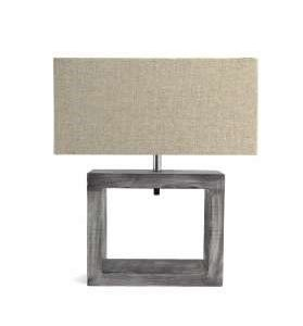 Cube Table Lamp with Shade