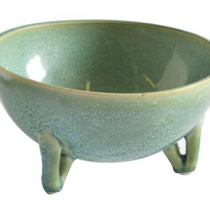 Jade Footed Bowl Green